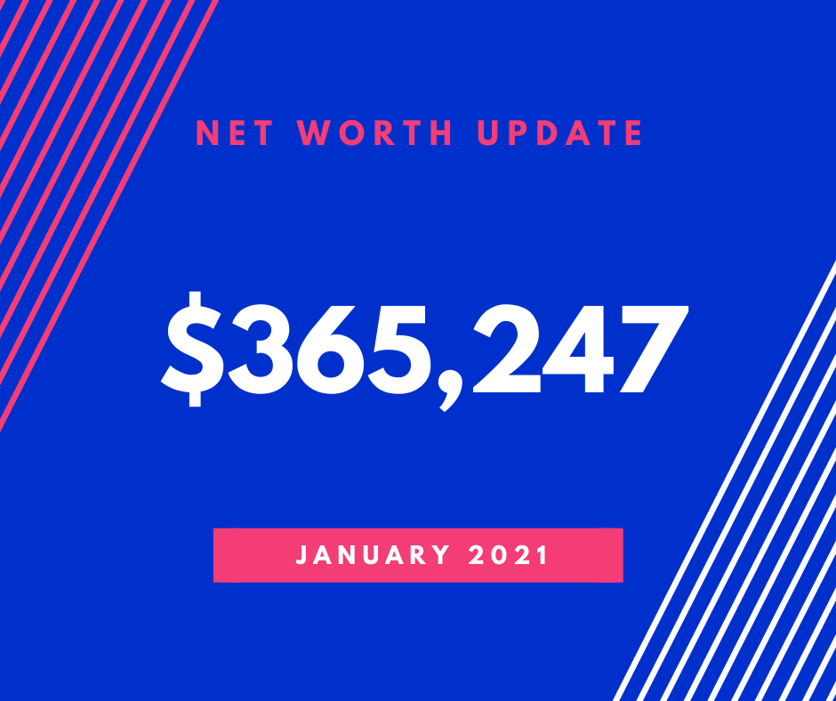 January 2021 Net worth update for Money Prowess
